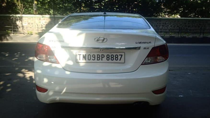 Hyundai Verna 2011-2015 SX CRDi AT