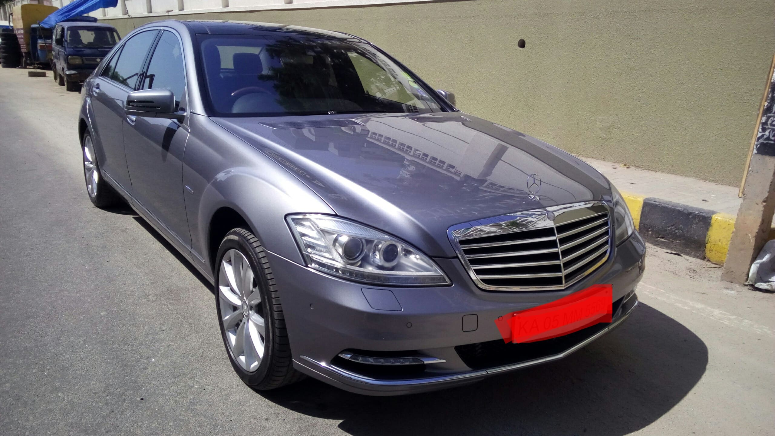 used class sedan benz s at mercedes detail