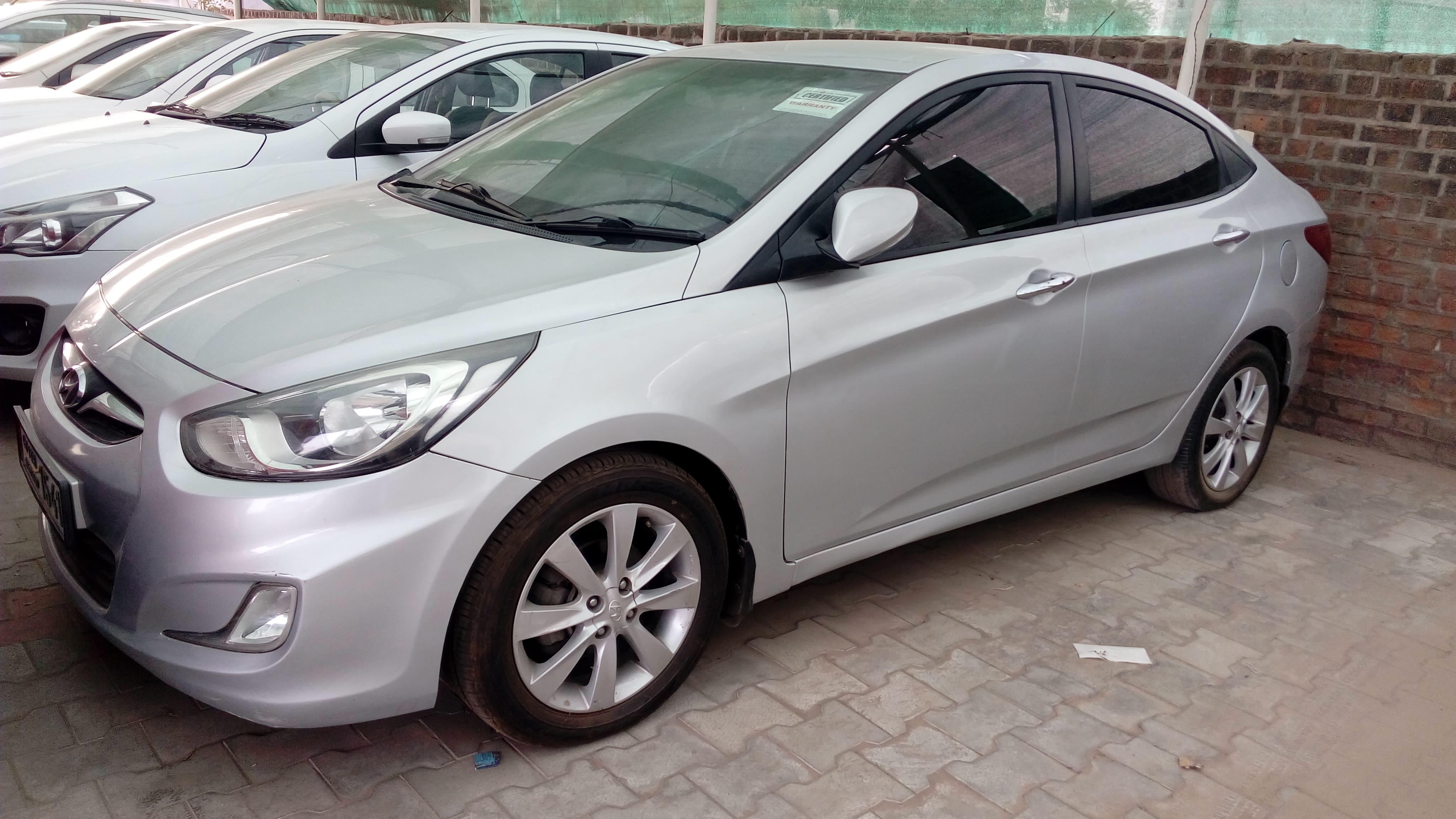 Hyundai Verna 2011-2015 1.6 SX CRDI (O) AT