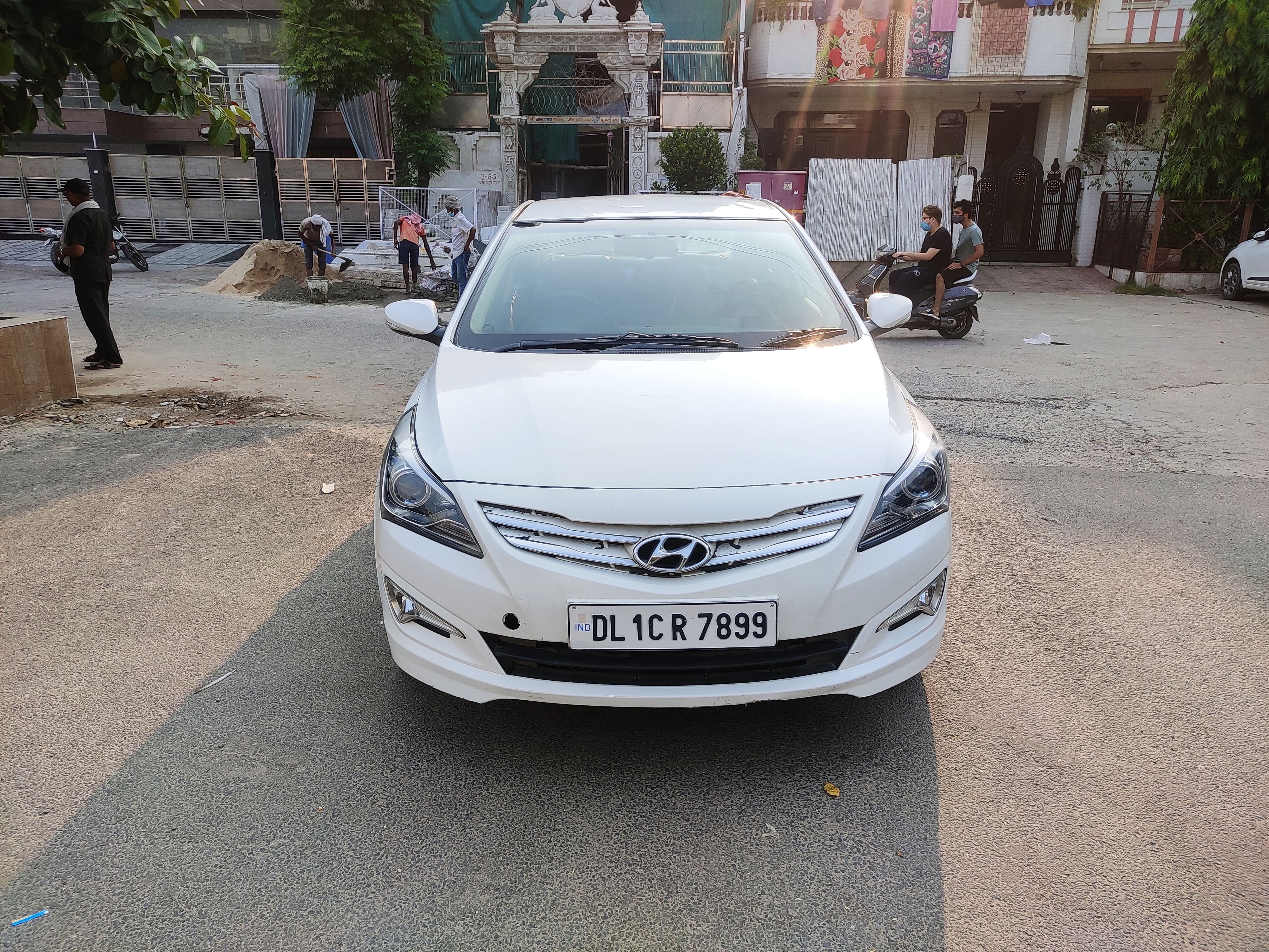 Hyundai Verna S Plus