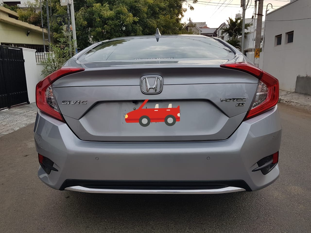 Honda Civic ZX Diesel BSIV