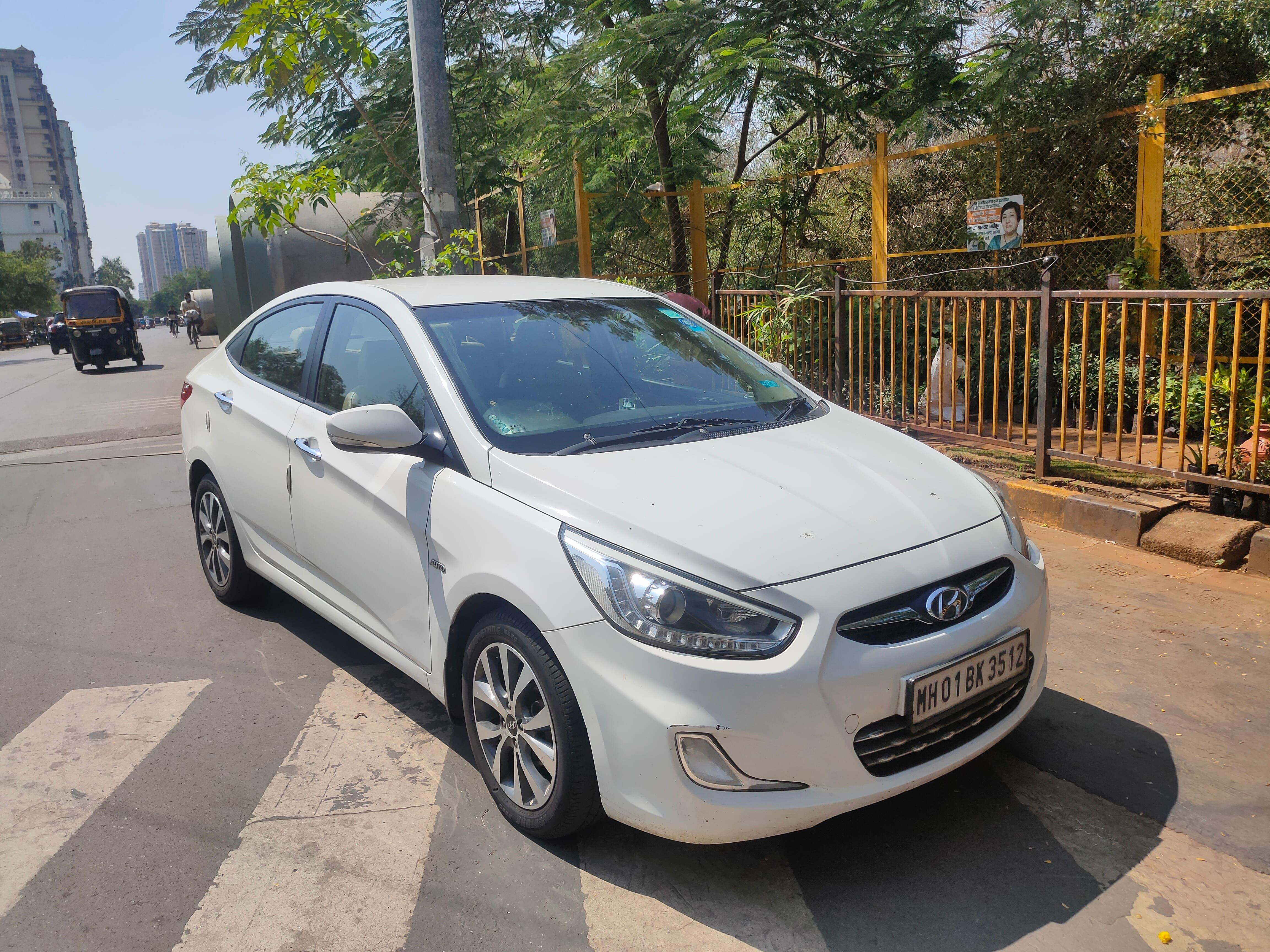 Hyundai Verna 2011-2014 1.6 SX VTVT (O) AT