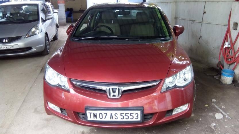 Honda Civic Used Car In Chennai 2017 2018 Honda Reviews