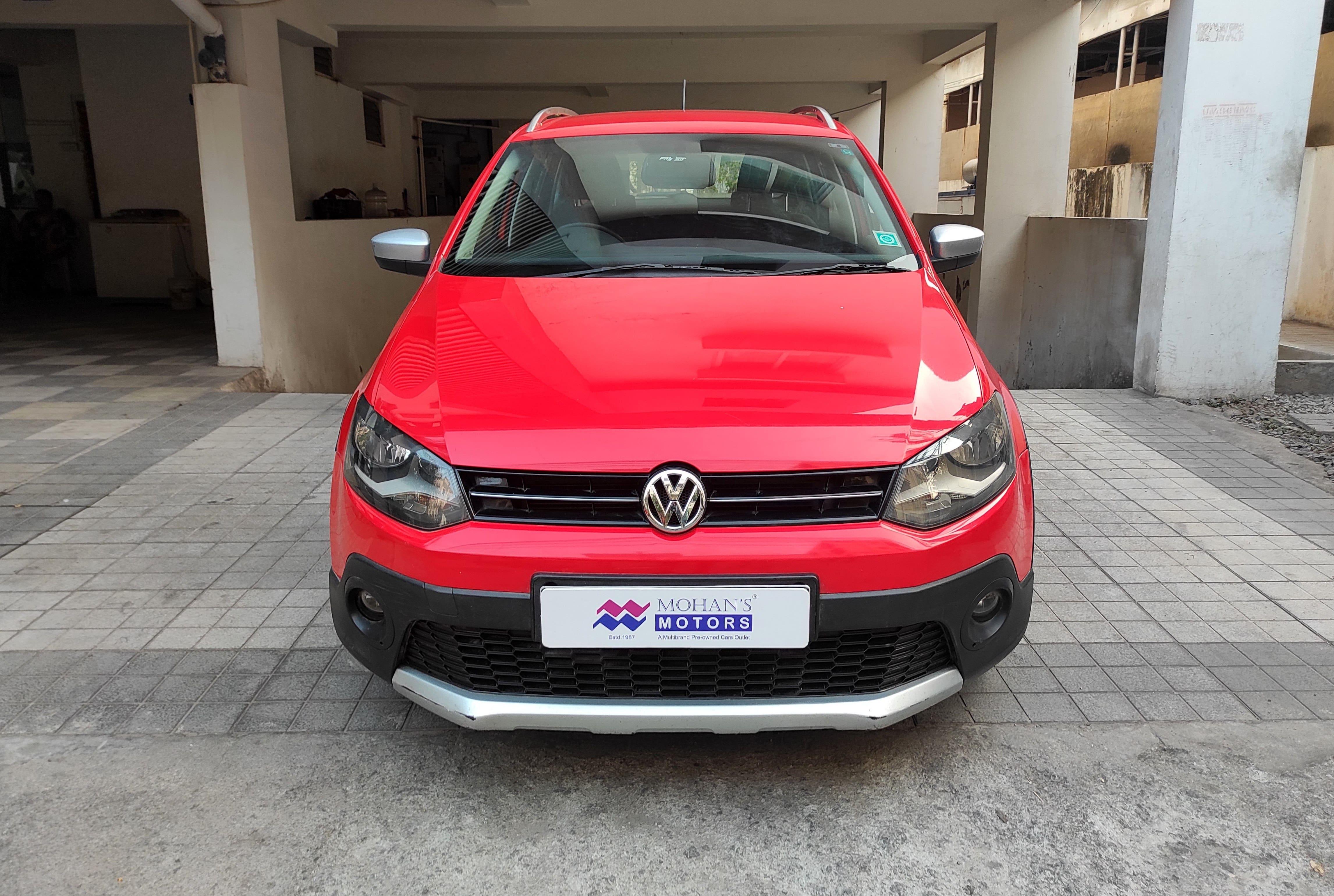 Volkswagen CrossPolo 2013-2015 1.5 TDI