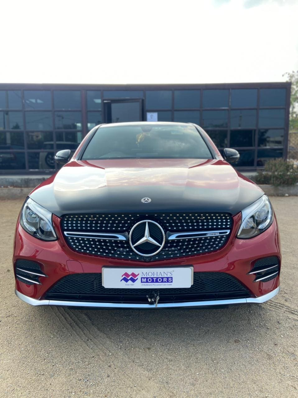 Mercedes-Benz GLC 2016-2019 43 AMG Coupe
