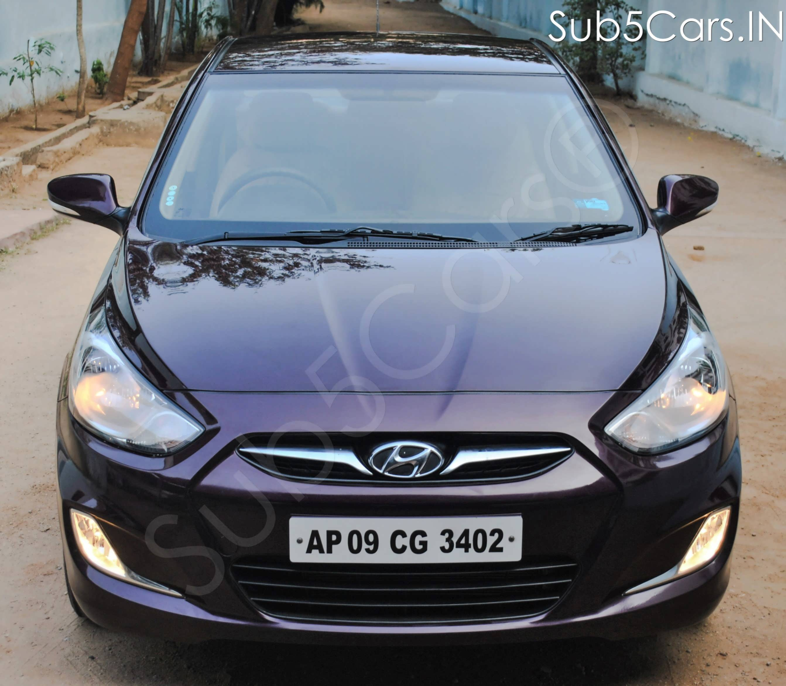 Hyundai Verna 2010-2011 Transform VTVT