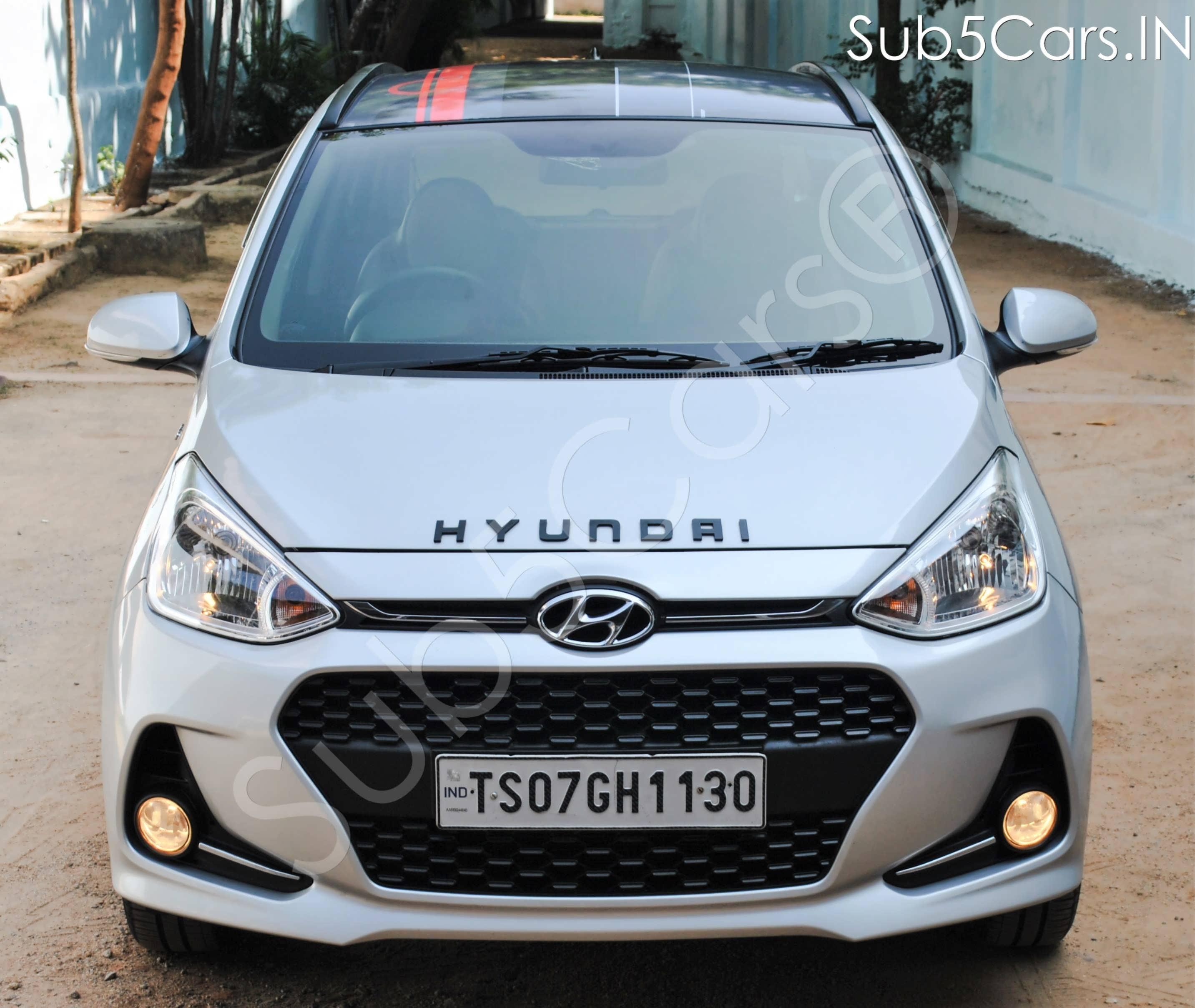 Hyundai Grand i10 1.2 Kappa Sportz Option AT