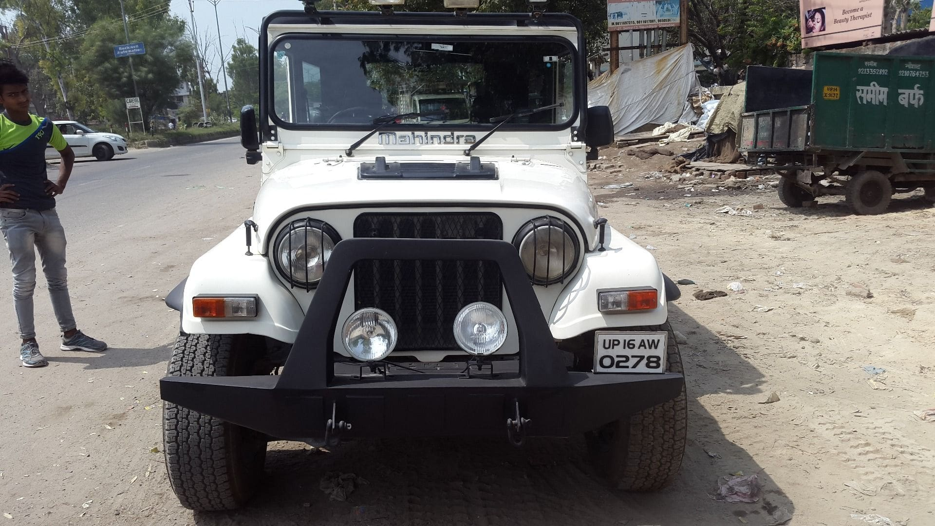 Mahindra Thar Diesel Crde 4x4 Price Specs Review Pics