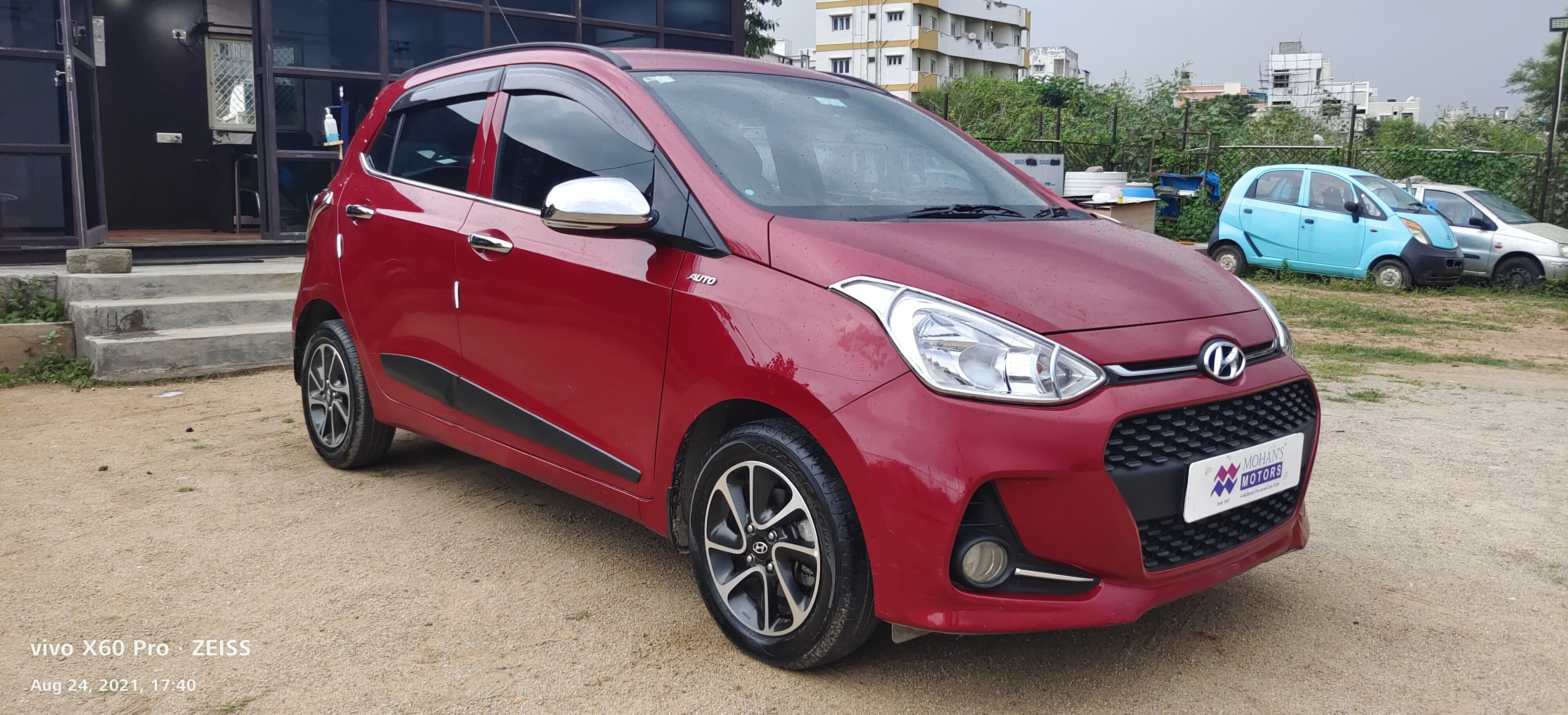 Hyundai Grand i10 1.2 Kappa Sportz Option AT