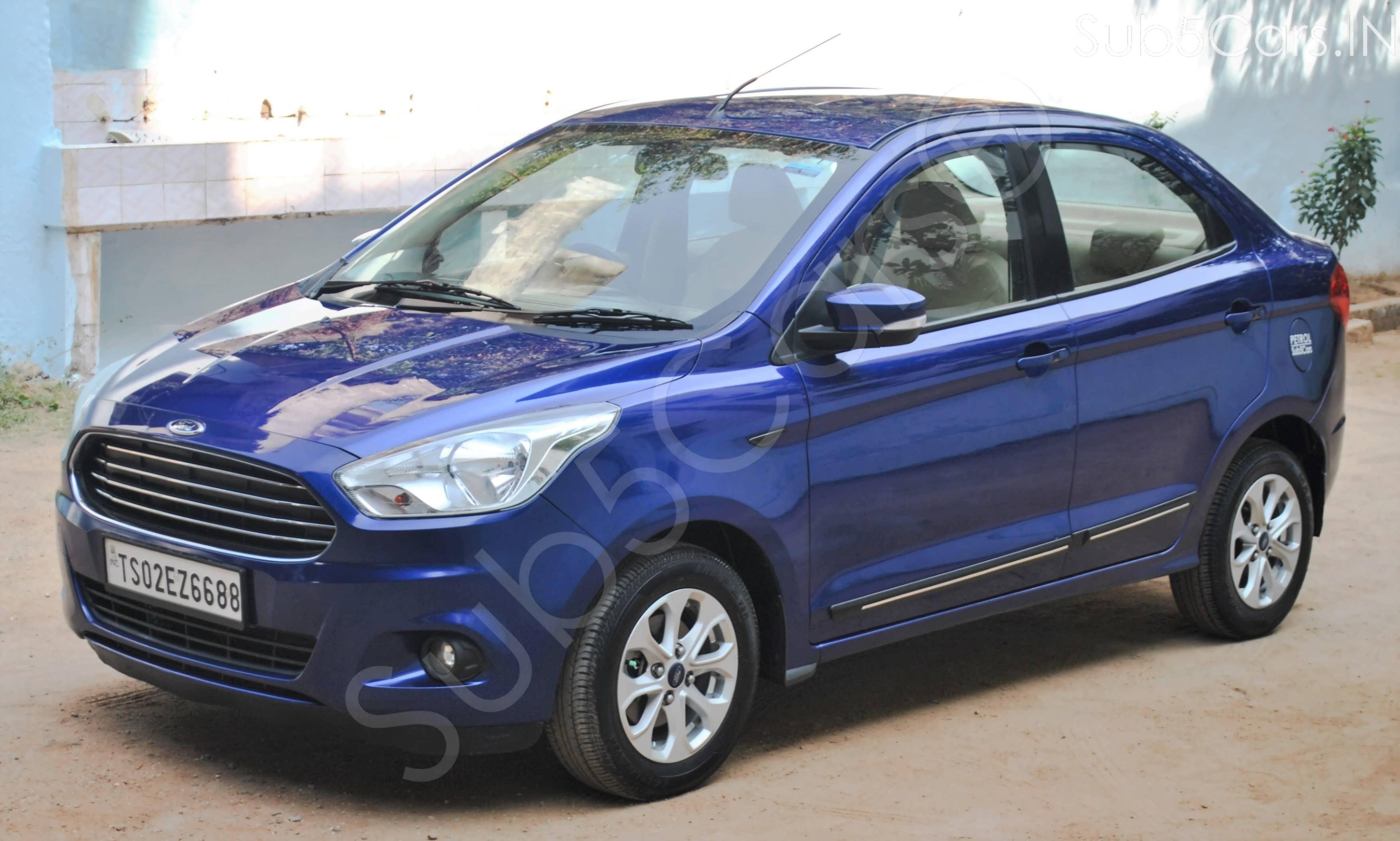Ford Figo 2015-2019 1.2P Titanium MT