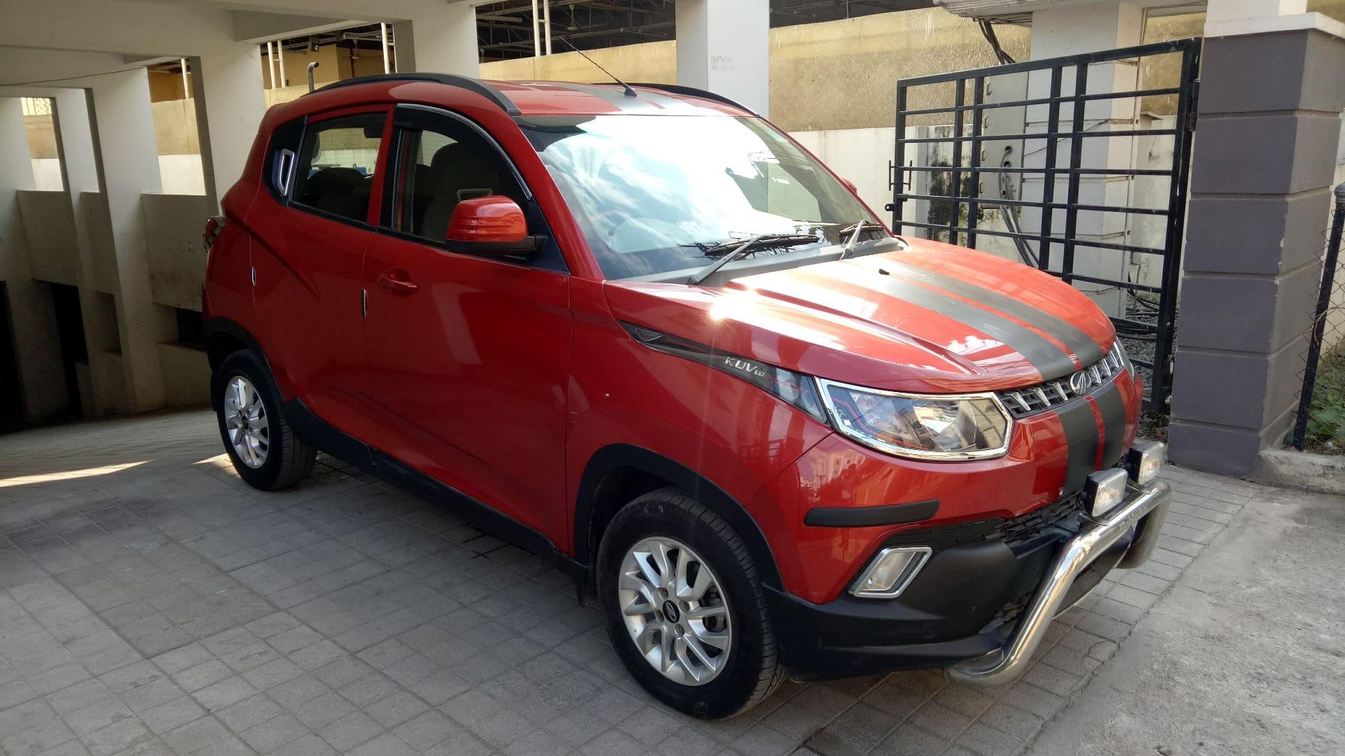 Mahindra KUV 100 2016-2017 mFALCON D75 K8
