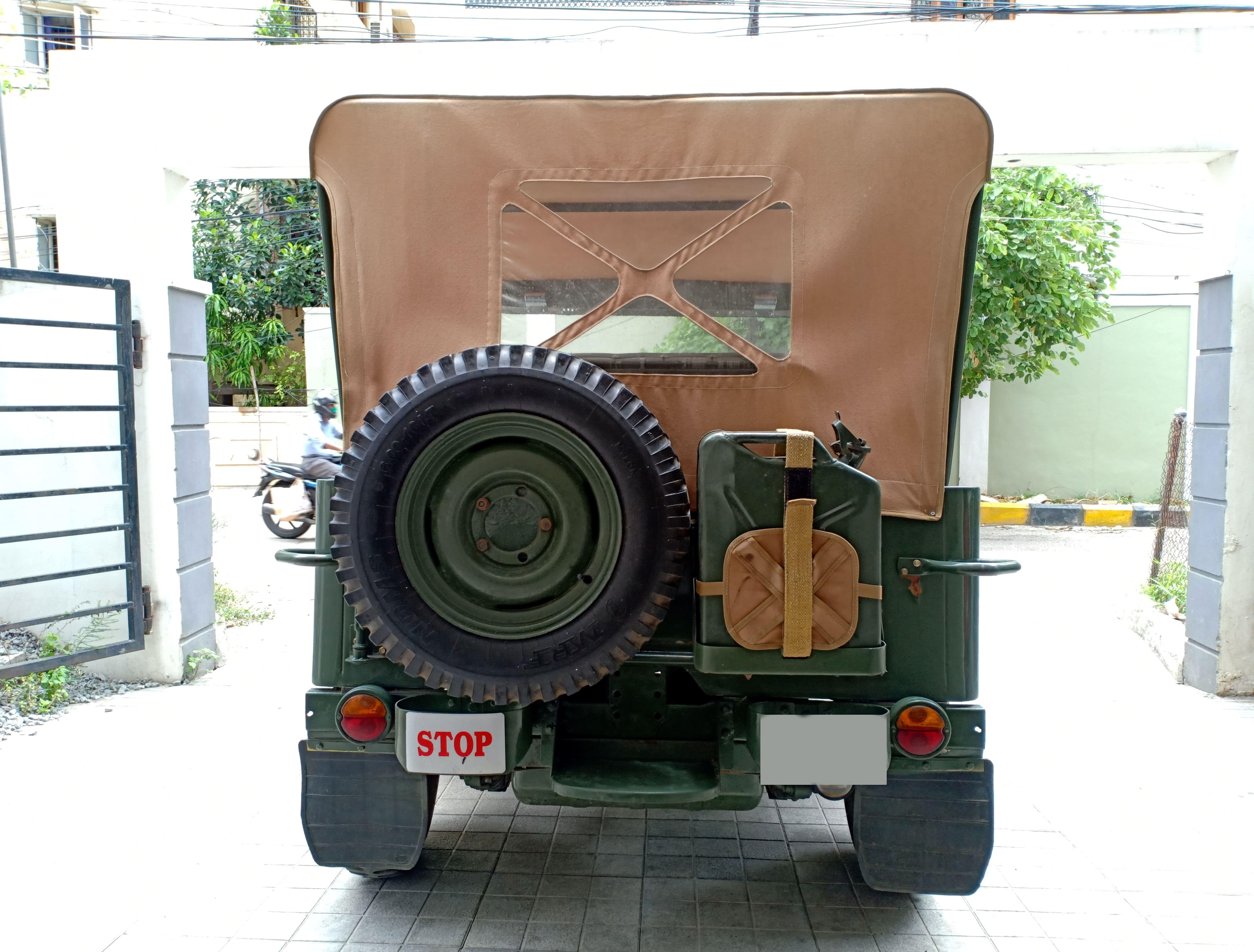 Mahindra Jeep MM 540