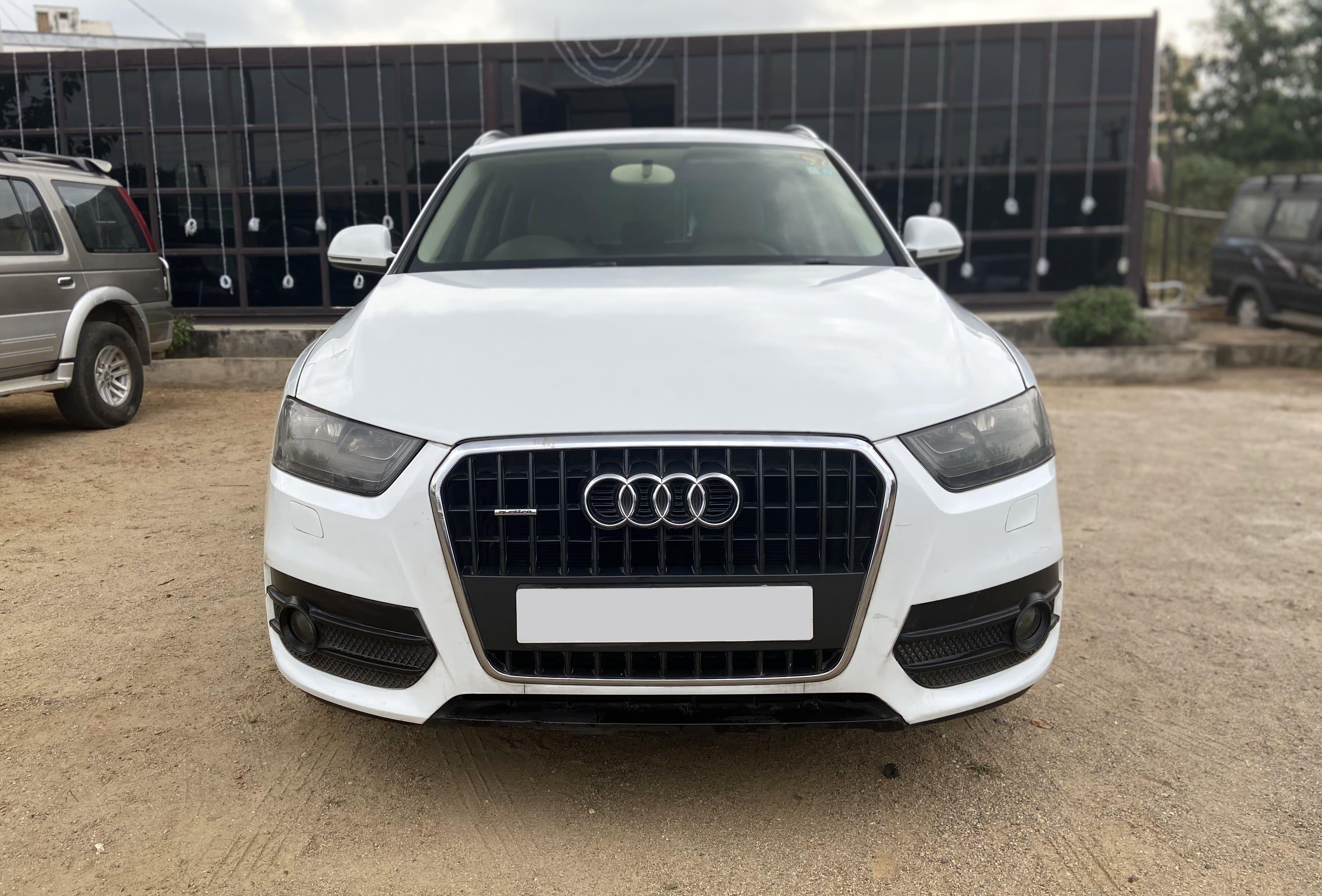 Audi Q3 2012-2015 35 TDI Quattro Premium Plus