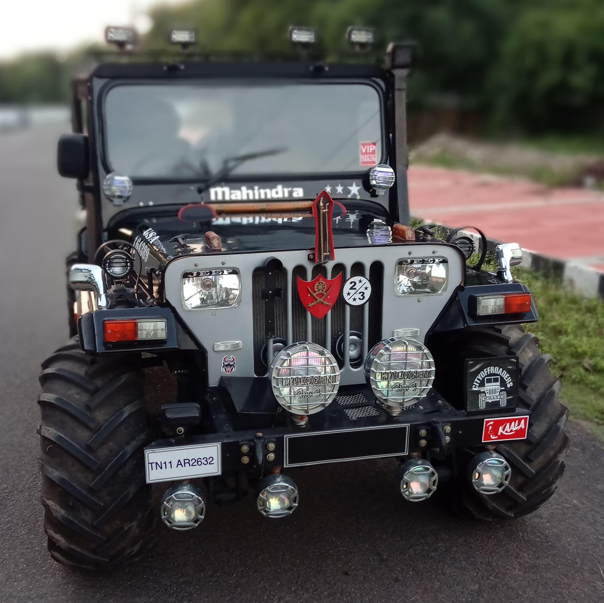 Mahindra Jeep MM 550 DP