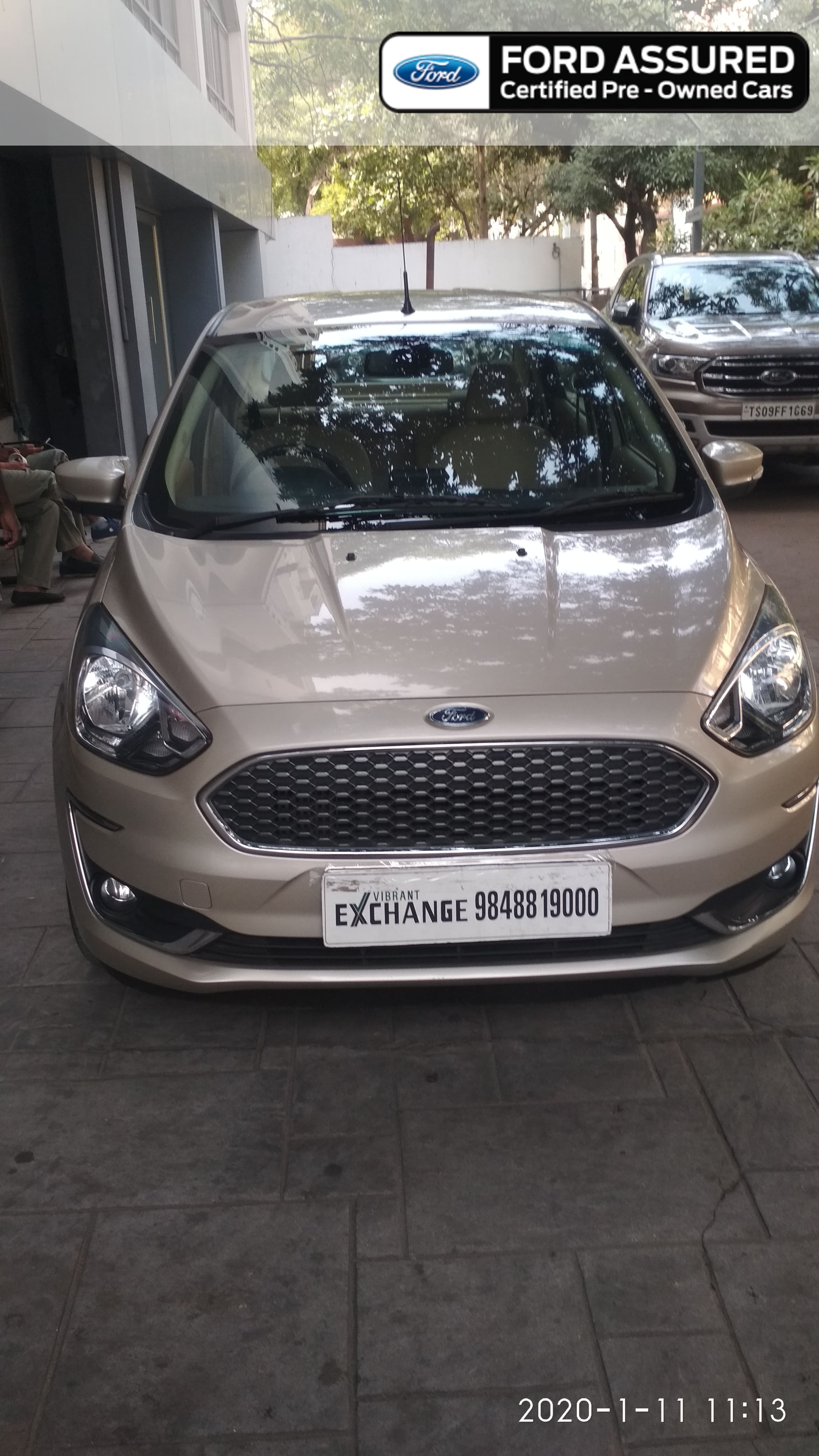 Ford Aspire Titanium Plus
