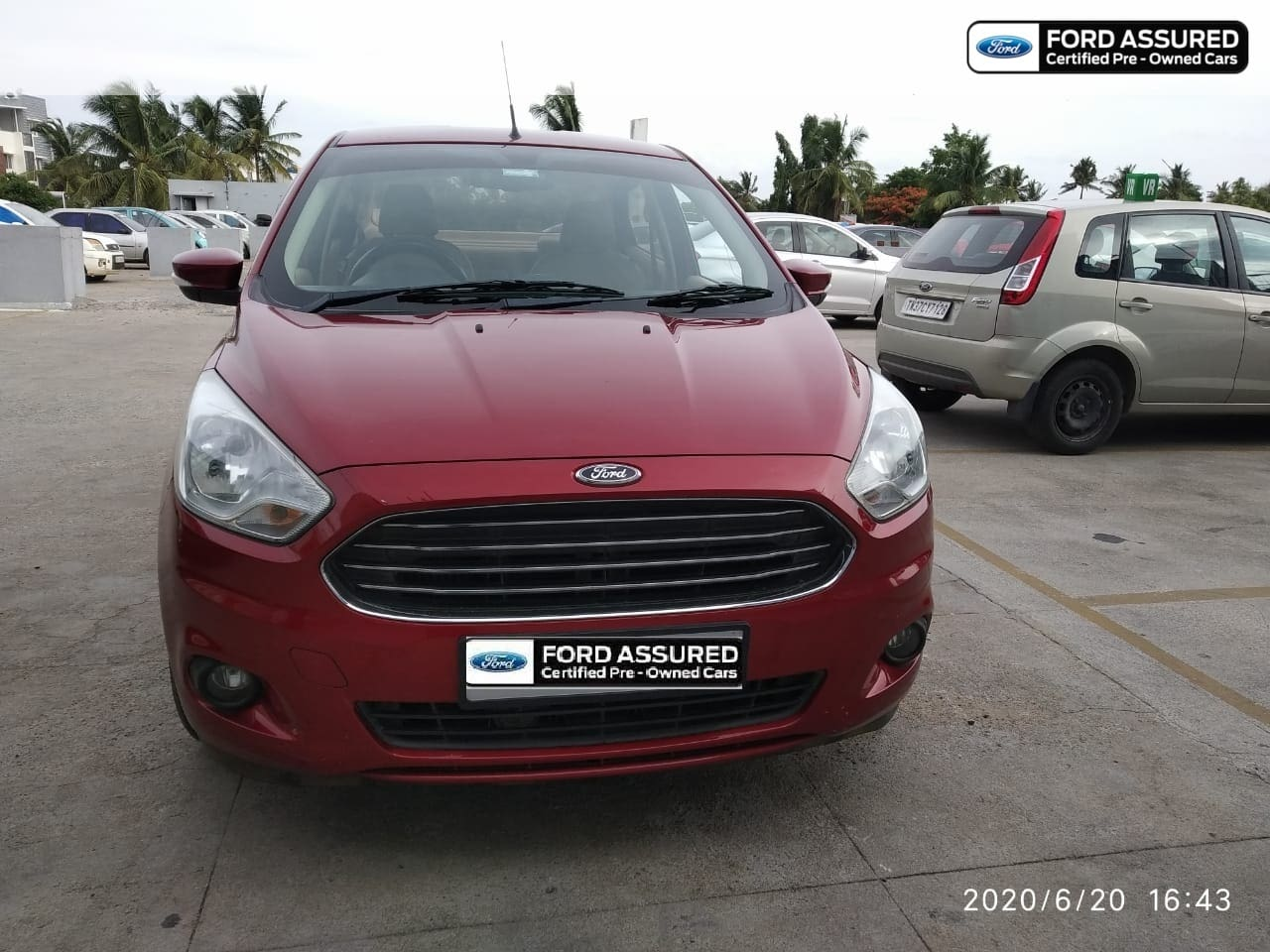 Ford Aspire Titanium Plus Diesel