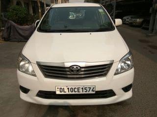 2012 Toyota Innova 2.5 GX (Diesel) 7 Seater BS IV