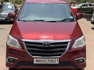 2013 Toyota Innova 2.5 GX (Diesel) 8 Seater BS IV