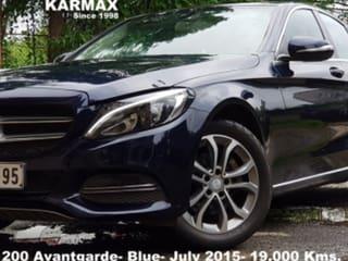 2015 Mercedes-Benz New C-Class C 200 Avantgarde Edition C