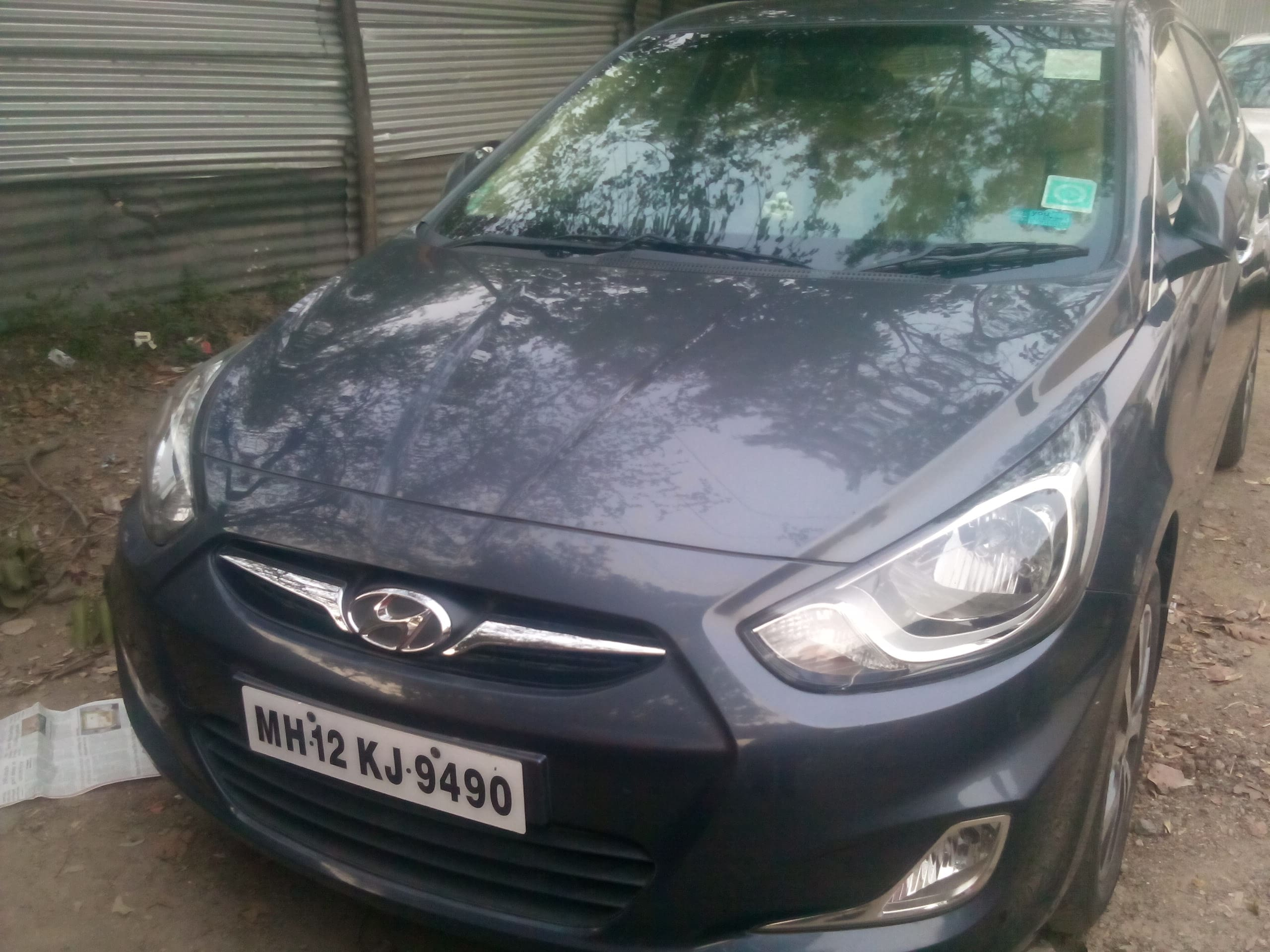 Used Hyundai Verna 2011-2014 1.6 SX CRDi (O) (Id-772687) Car in Pune