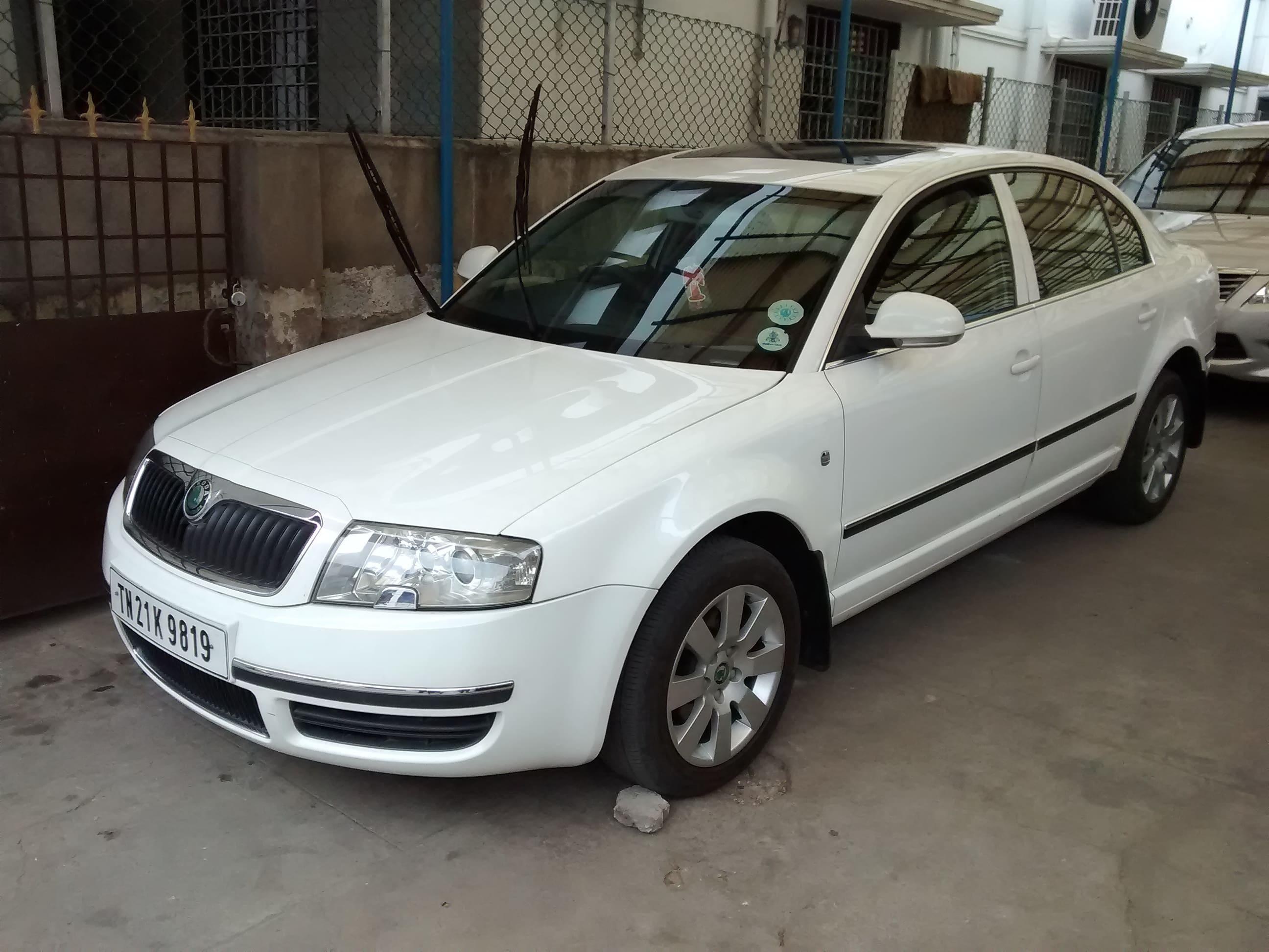 Used Skoda Superb Elegance 2.0 TDI CR AT (Id-804355) Car in Chennai