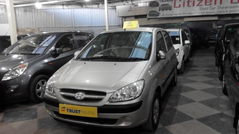 Used Hyundai Getz Prime 1.1 GVS (Id-737001) Car in Bangalore