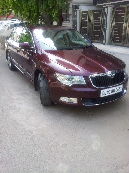 Used Skoda Superb Elegance 2.0 TDI CR AT (Id-565558) Car in New Delhi