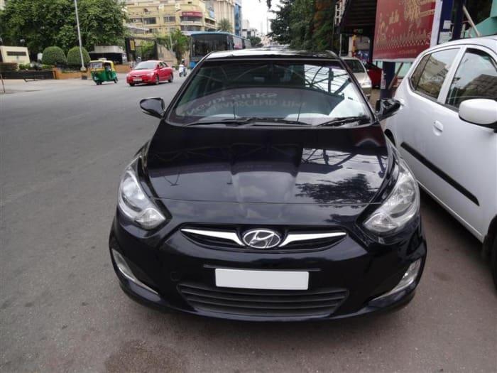 Used Hyundai Verna 1.6 SX CRDI (O) AT (Id-578905) Car in Bangalore