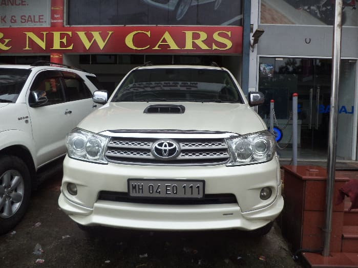 Used Toyota Fortuner 4x4 MT Car in Thane