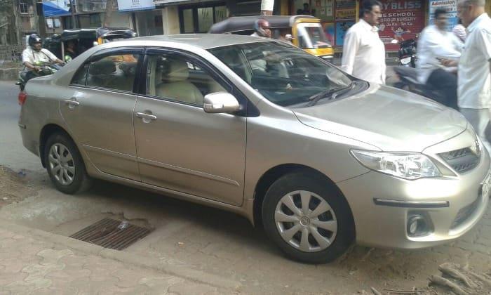 Used Toyota Corolla Altis 2010-2013 1.8 J (Id-640624) Car in Mumbai
