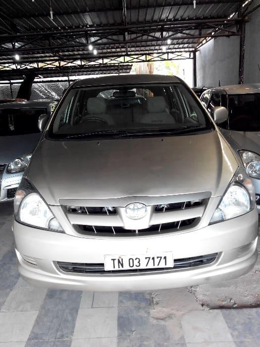 Used Toyota Innova 2004-2011 2.5 G4 Diesel 8-seater (Id-572663) Car in Chennai